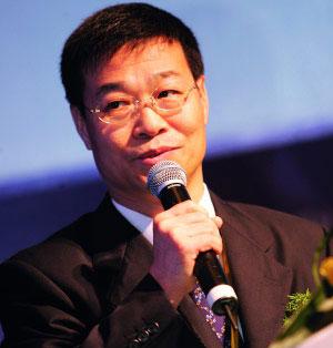 深圳发展银行副行长刘宝瑞 零售银行 太极图